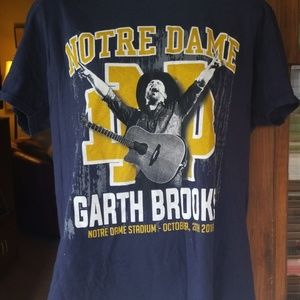 Garth Brooks Notre Dame concert t shirt!!